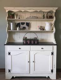 Kitchen Hutch Furniture Hutch Farmhouse Kitchen Hutch Cottage Rustic Kitchen