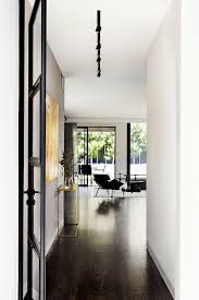 the modern contemporary black and white interiors of toorak house