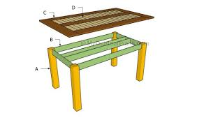 Free Wooden Dining Table Plans by Creative Decoration Outdoor Dining Table Plans Outdoor Dining