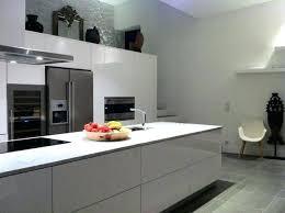 cuisine ton gris cuisine equipee blanc laquee 13 favori grise idaces de daccoration