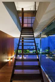 open tread staircase interior design ideas