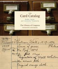 new book card catalog s history library of congress