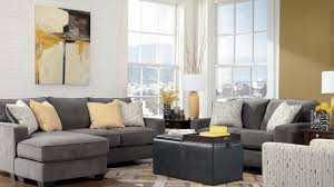 gray couch for living room ideas wall mount television and ball