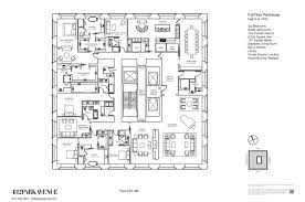 432 Park Avenue Floor Plans New York Usa | penthouse floorplans for 432 park avenue by ms gotham findery