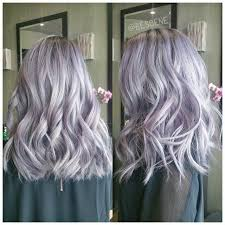 salt and pepper hair with lilac tips diy hair five gorgeous pastel hair colors silver hair pastel