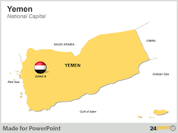 middle east map ppt tracking change in the middle east with editable ppt maps of yemen