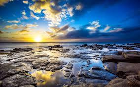 Hawaii landscapes images Sea ocean sunrise photography sea landscapes hawaii dawn jpg