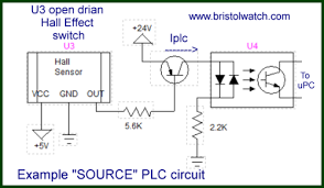 optocoupler input circuits for plcs
