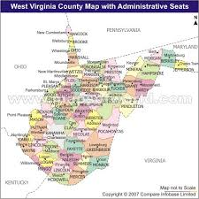 virginia county map with cities virginia county seat map