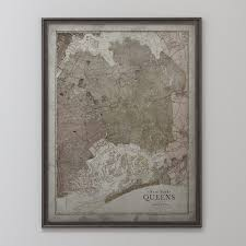 Map Of Queens New York by New York Map Vintage Map Of Queens New York Circa 20th C