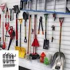 Image result for metal shelving with hangers B01FTB9GKY
