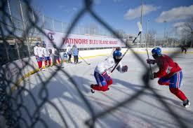 chambre canadien de montreal trois rivières aura sa patinoire du canadien actualités le