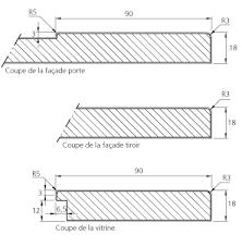 plan de la cuisine relooking porte et facade modèle schéma maison de la cuisine