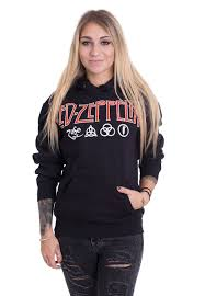 led zeppelin sweater led zeppelin logo symbols hoodie official rock merchandise