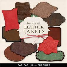Leather Scrap Book 127 Best Free Tags And Labels Images On Pinterest Blog Page