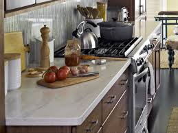 Kitchen Countertop Colors Pictures U0026 Ideas From Hgtv Hgtv How To Decorate Kitchen Counters Hgtv Pictures Ideas Countertop