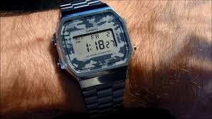 casio a168 casio a168 how to set time and date