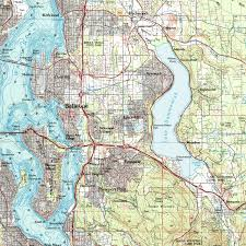 Map Of Seattle Gangs And by Lake Hills History