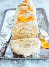 clementine cuisine white chocolate and clementine yule log ricardo