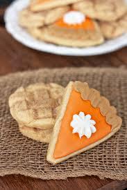 turkey sugar cookies erica s sweet tooth pumpkin and apple pie sugar cookies