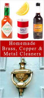 how to clean brass copper more diy methods tipnut