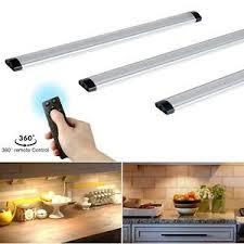 kitchen cabinet lighting ideas uk details about 3 pack cabinet lights led kitchen