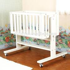 Swinging Crib Bedding Swinging Crib Saplings White Swinging Crib With A Free Mattress