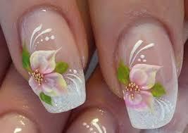 women wear cool flowers nail art collection trendy mods com
