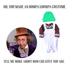 funny halloween gifts oompa loompa baby costume kids willy wonka costume funny