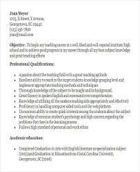 Resume Sample For Fresher Teacher by 22 Modern Fresher Resume Templates Free U0026 Premium Templates