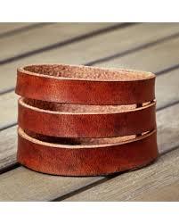 leather cuff wrap bracelet images Huge deal on leather cuff bracelet statement bracelet wide