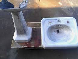bathroom sink refinishing porcelain sink repair
