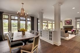 Kitchen Living Room Divider Ideas Kitchen Living Room Divider Ideas Dining Room Transitional With