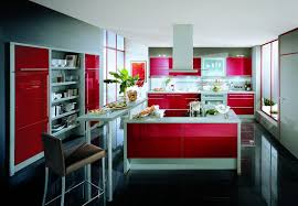 kitchen red kitchen ideas for decorating with modern red kitchen