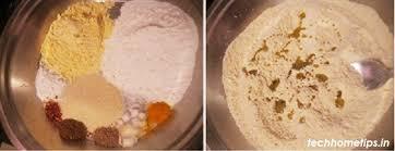 rice flour chakli चकल recipe mix atta chakli recipe techhometips in