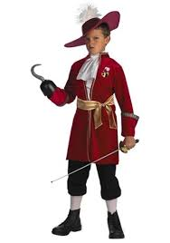 captain hook boys costume pan costumes for