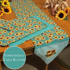 sunflower fields table linens u2013 the fair