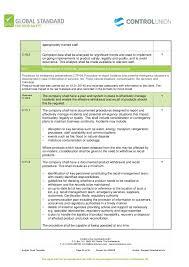 gmp audit report template audit report 2015 brc