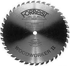 forrest table saw blades forrest woodworker ii 10 x 40 tooth 1 8 kerf forrest saw blades