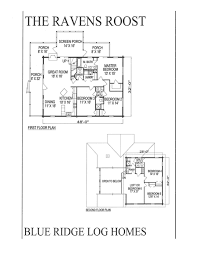 Home Floor Plans 2000 Square Feet 2000 Square Foot Log Homes Blue Ridge Log Homes 540 337 0033