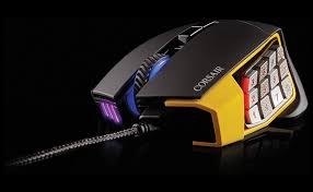 scimitar rgb optical moba mmo gaming mouse