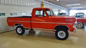 Ford F250 Used Truck Bed - 1971 ford f 100 sport custom 4x4 pickup stock k03389 for sale