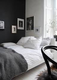 Bedroom Ideas White Walls And Dark Furniture Black And Place Them In Your Bedroom Black And White Bedroom Is