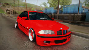 red bmw e46 bmw 3 er e46 for gta san andreas