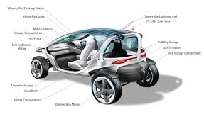 mercedes benz vision golf cart concept pursuitist