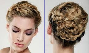 prom braided hairstyles braided updo hairstyle for mediumlong hair