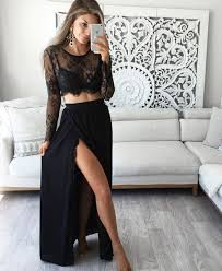 the 25 best long dress with slit ideas on pinterest fitted