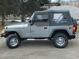 jeep wrangler 2 4 2006 technical specifications interior and