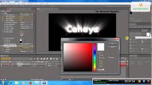 cara membuat logo bercahaya di photoshop cara membuat animasi tulisan bercahaya dengan after effect youtube