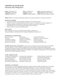 Data Management Resume Sample Gis Resume Coinfetti Co